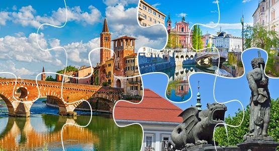 Сказочное Трио: Австрия+Словения+Италия